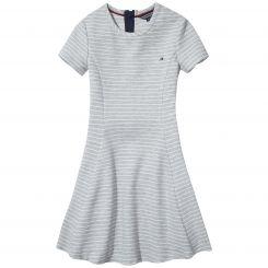 Tommy Hilfiger Kleid Ottoman Stripes