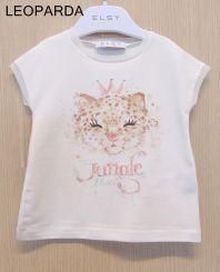 Elsy T-Shirt Leoparda