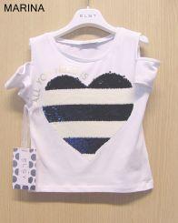 Elsy T-Shirt Marina