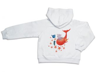 T-Shirt T-Shops Sweatjacke Fisch