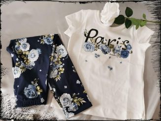 Monnalisa T-Shirt St. Paris Rose