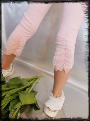 Monnalisa Leggings Tulle Dietro rosa