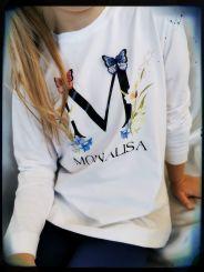 Monnalisa Langarmshirt T-Shirt St. M. Fiori
