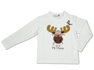 Hitch-Hiker Langarmshirt Mr. Moose