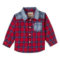 Levis Hemd LS Shirt Checky