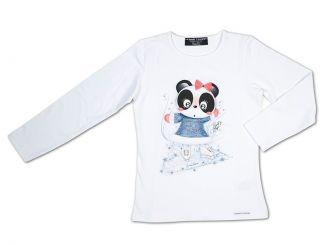 T-Shirt T-Shops Langarmshirt Panda