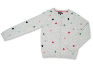 Tommy Hilfiger Strickjacke Dot Mini Cardigan