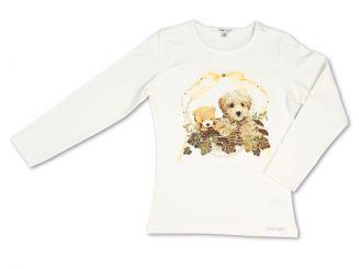 T-Shirt T-Shops Langarmshirt Hund
