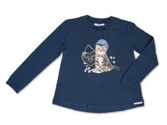 T-Shirt T-Shops Langarmshirt Katze