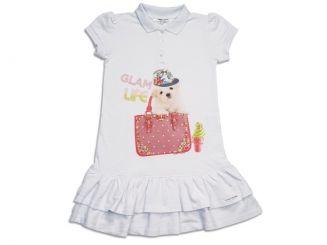 T-Shirt T-Shops Kleid Piquet