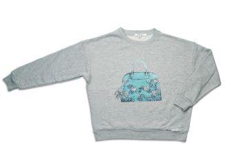 T-Shirt T-Shops Sweatpullover Grigio Melange