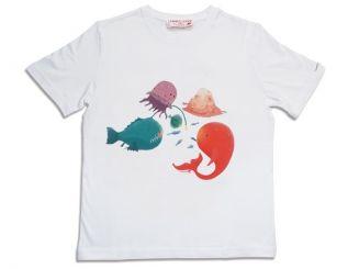 T-Shirt T-Shops T-Shirt Pinksie Fishes