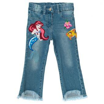 Monnalisa Jeans Frange Ricamati Arielle