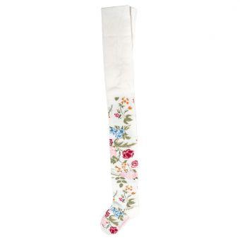 Monnalisa Strumpfhose Collant Flowers