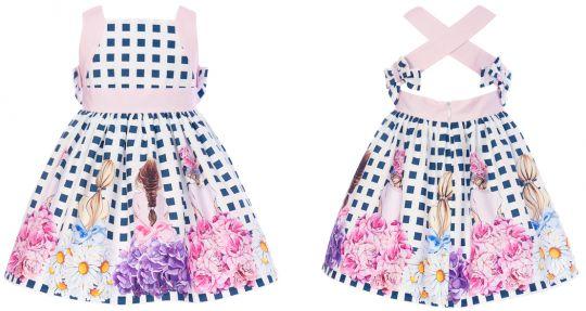 Balloon Chic Kleid Mädchen