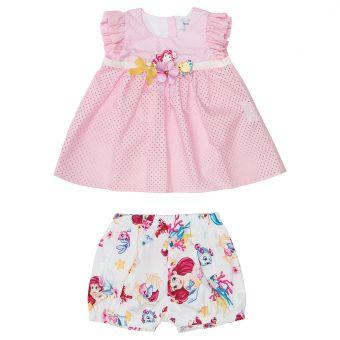 Monnalisa ZWeiteiler Completo Top + Shorts Arielle