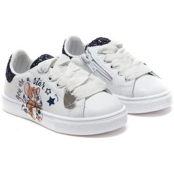 Monnalisa Sneaker Blue Star Jerry