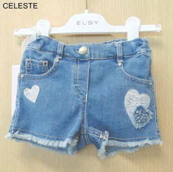 Elsy Shorts Celeste