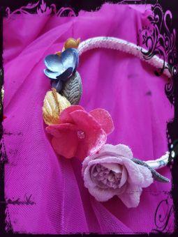 Monnalisa Haarreifen Cerchietto Fiocco Flowers