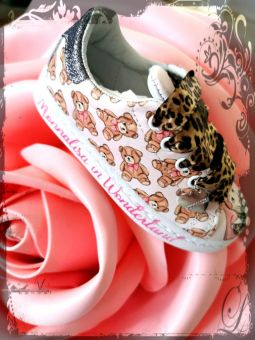 Monnalisa Sneakers Romatic Alice im Wunterland