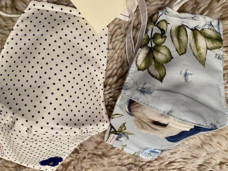 Monnalisa Schutzmaske Mund-Nasenschutz 2er Pack Rose Popeline Parisien