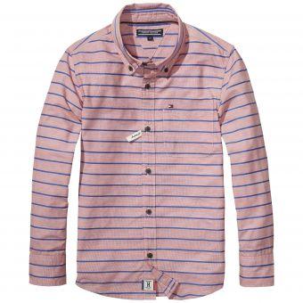 Tommy Hilfiger Hemd Logan Structures Stripe Shirt