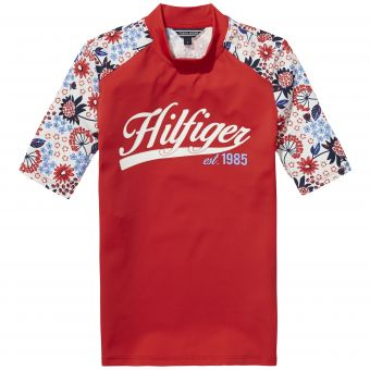 Tommy Hilfiger UV-Shirt Flower Swimtee