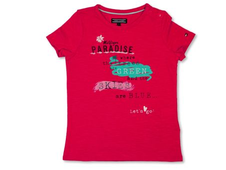 Tommy Hilfiger Mädchen T-Shirt Chelsea Mini