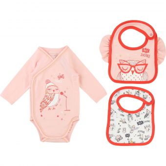 Little Marc Jacobs Set Body + 2 Lätzchen
