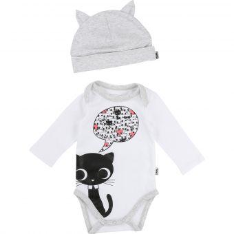 Karl Lagerfeld Kids Set Body und Mütze