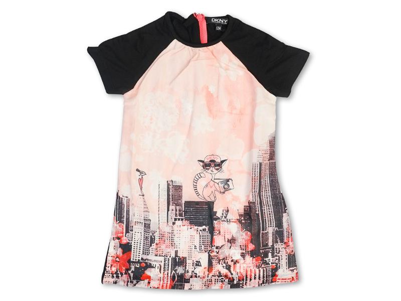 dkny donna karan new york kleid in kleider froschk nig. Black Bedroom Furniture Sets. Home Design Ideas