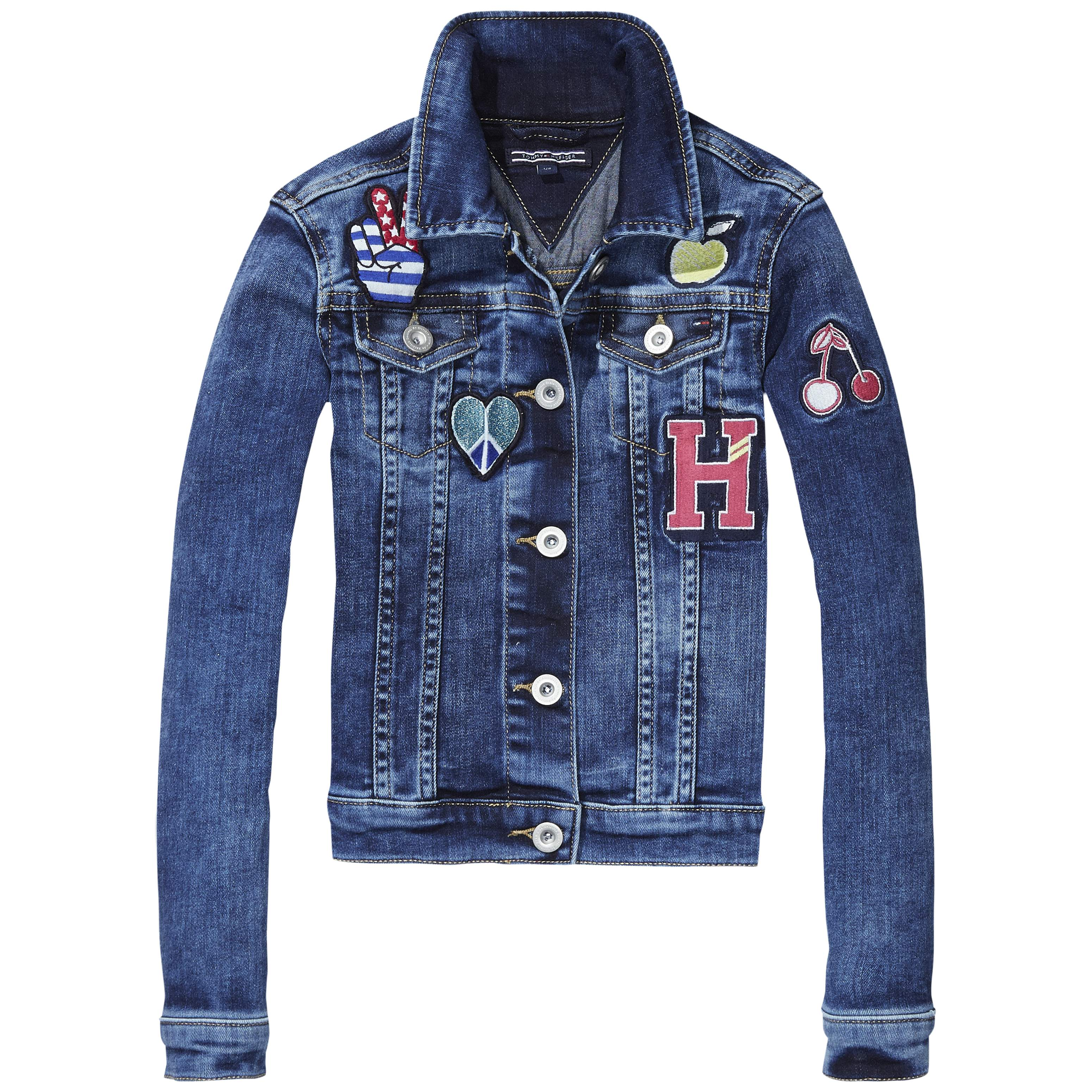 Tommy Hilfiger Jeansjacke Girls Denim Jacket Bagdget